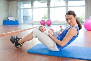 Период восстановления организма женщины после родов
