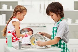 Основные домашние обязанности детей в семье