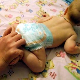 Гімнастика для новонароджених в 2 місяці