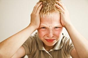 Психосоматические головные боли у детей