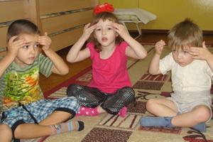 Детский точечный массаж для детей дошкольного возраста