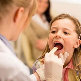 Бактериальная инфекция горла у детей лечение