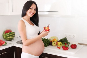 Меню правильного питания при беременности из полезных продуктов