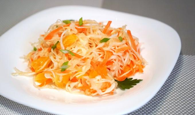 Салат из моркови и яблока для беременных