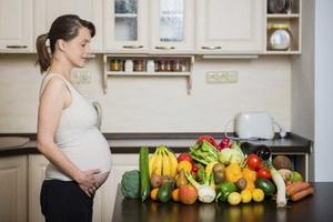 Правильное питание женщины в период беременности