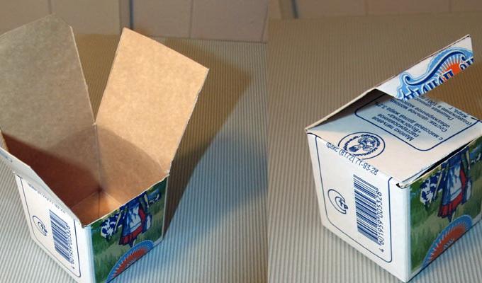 Гараж из картонной коробки своими руками