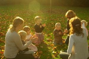 Развивающие игры и занятия с детьми на природе