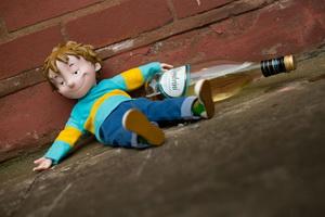 Отравление алкоголем у детей – неудачный опыт