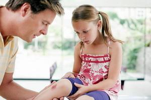 Кровотечения, ушибы и травмы у детей